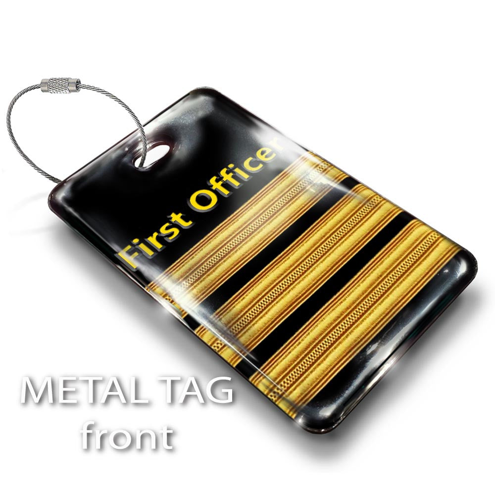 First Officer(3 BARS) Crew Tag