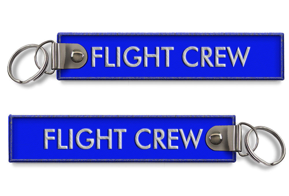 FLIGHT CREW-BagTag-BLUE