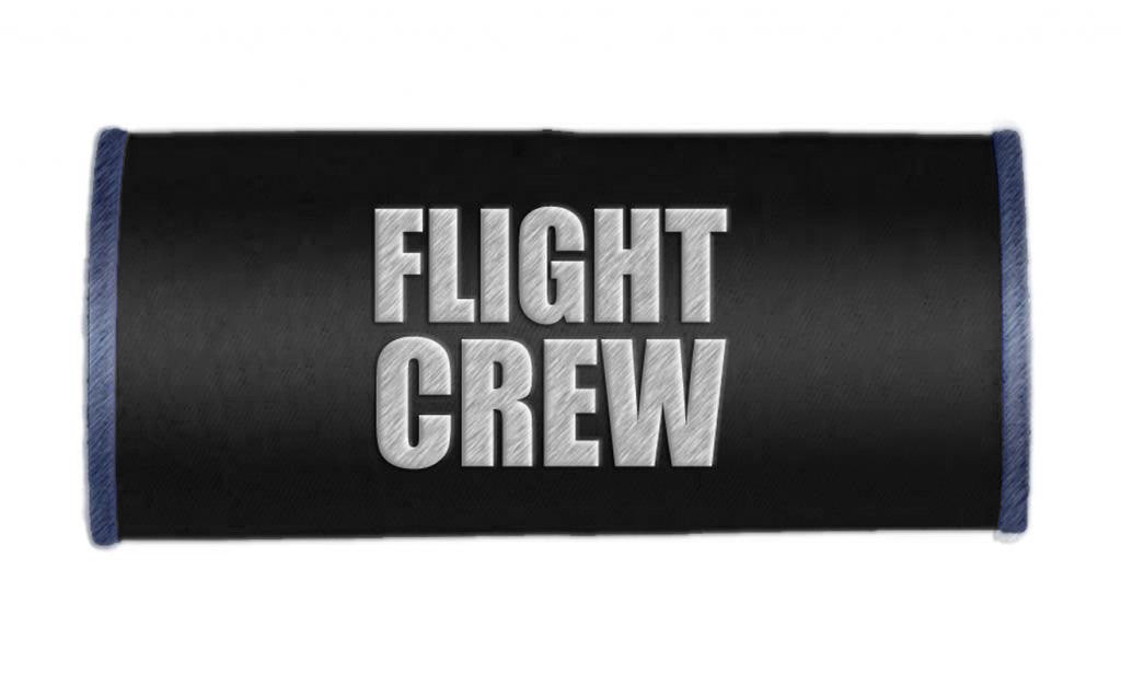 FLIGHT CREW- Luggage Handle Wrap BLACK