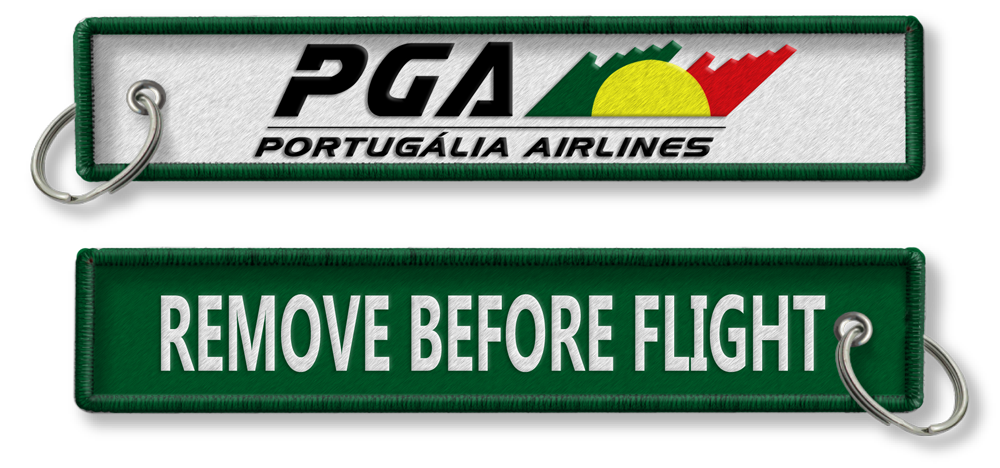 PGA Airlines-Remove Before Flight