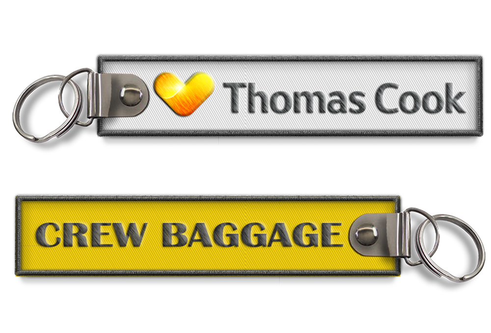Thomas Cook-Crew Baggage Keyring