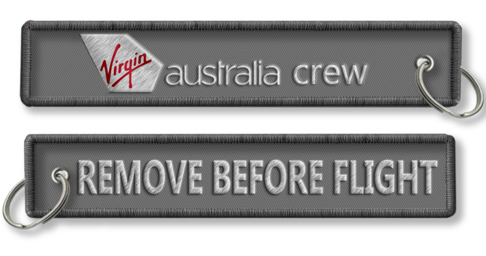 Virgin Australia-Remove Before Flight