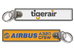 Tiger Airways-Airbus Crew keychain