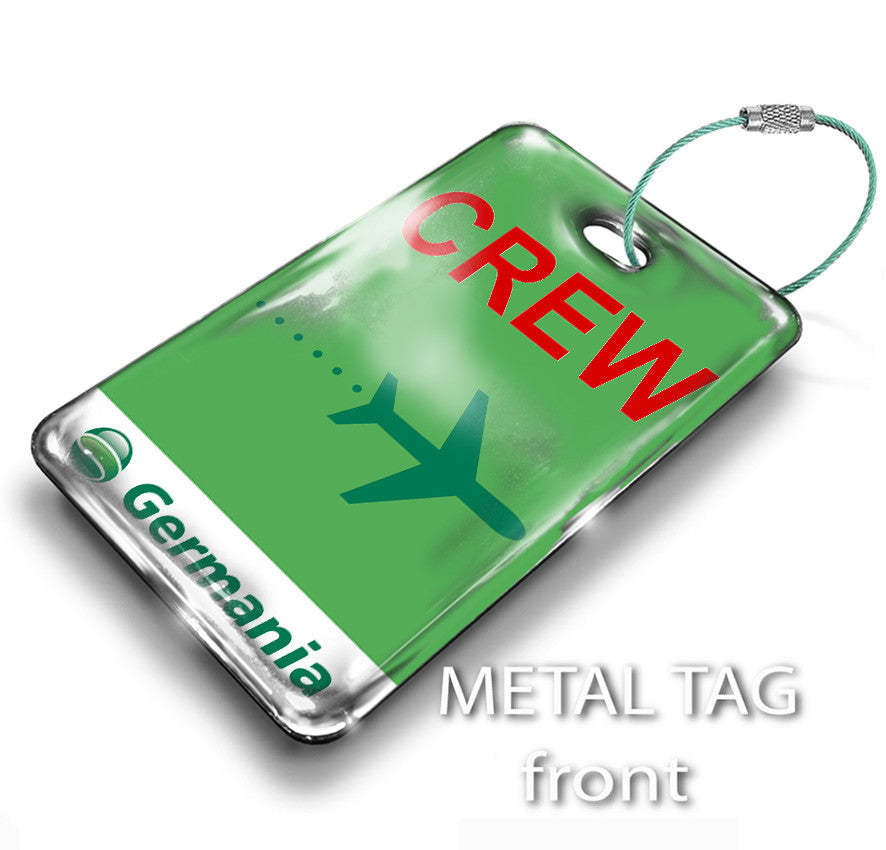 Germania Airline Official Tag