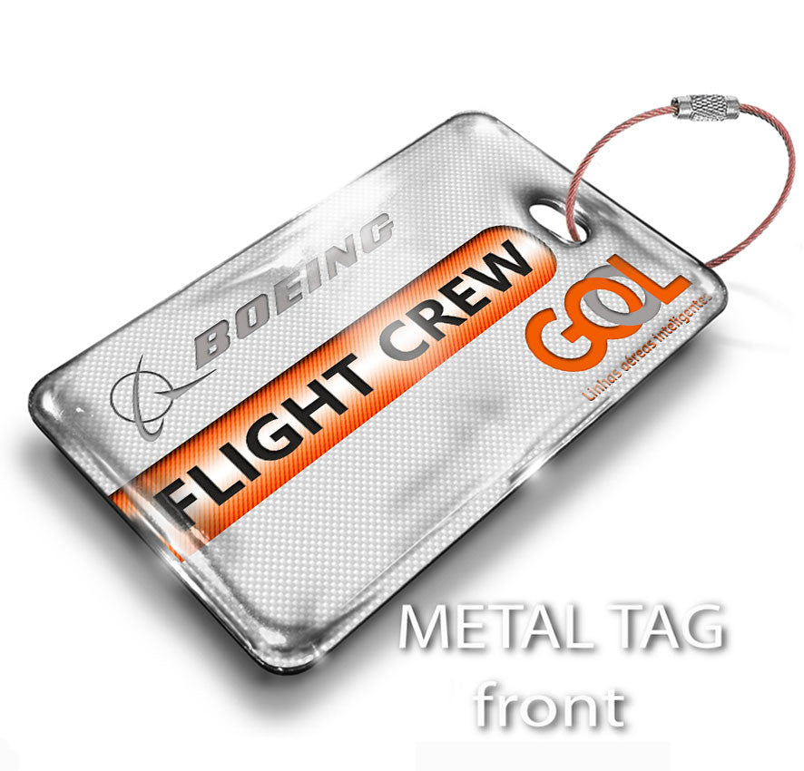 Gol Airlines FLIGHT CREW Tag