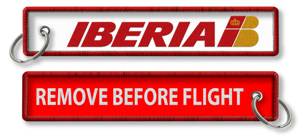 Iberia-Remove Before Flight(Old Logo)