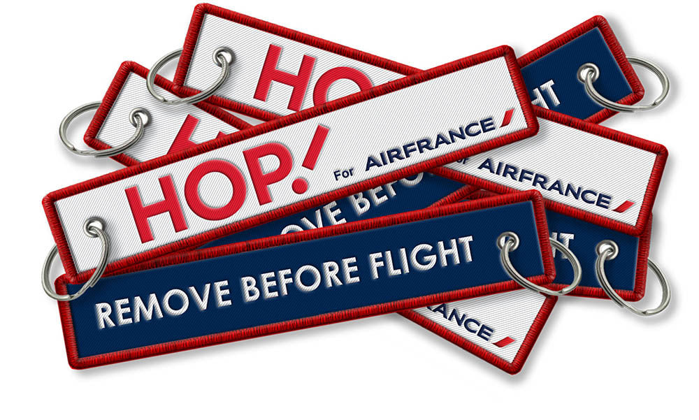 HOP! Airlines-Remove Before Flight