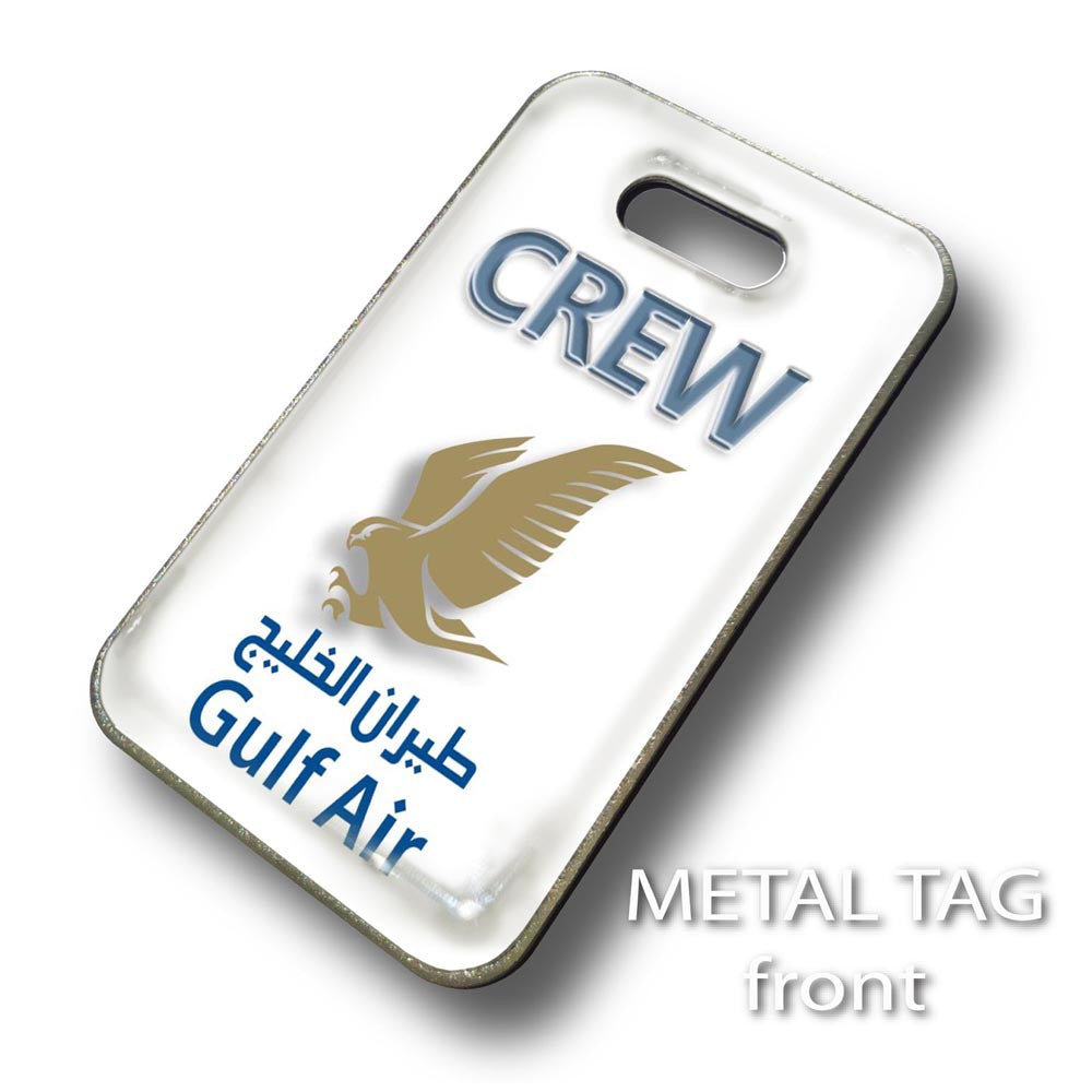 Gulf Air Logo-White