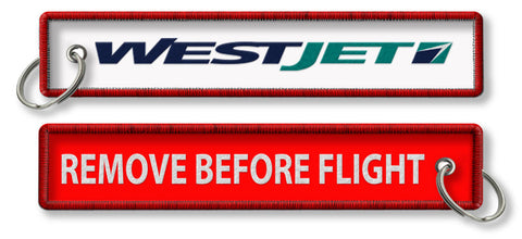 Westjet-Remove Before Flight