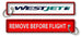 Westjet-Remove Before Flight(Old Logo)