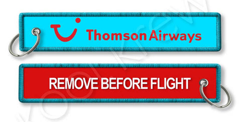 Thomson Airways-Remove Before Flight