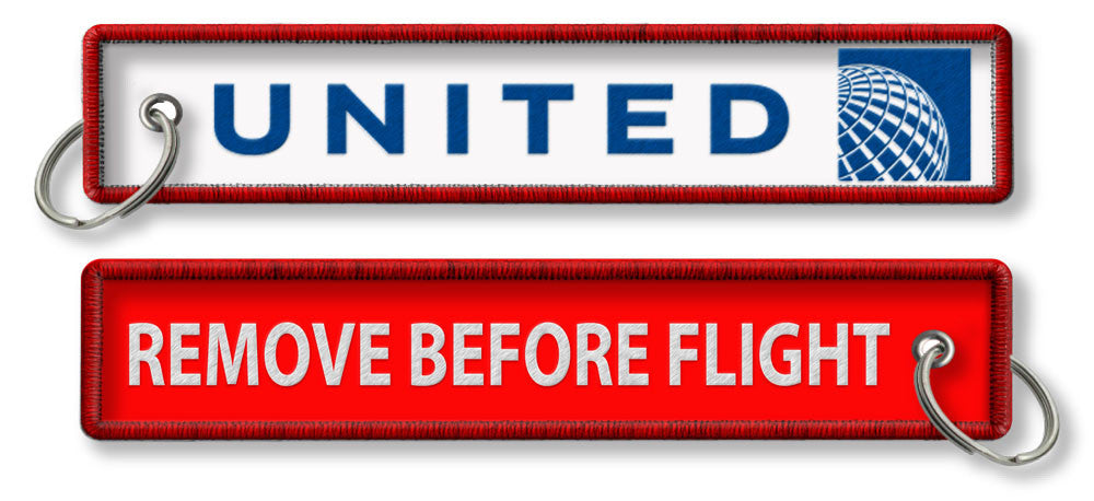 United Airlines-Remove Before Flight