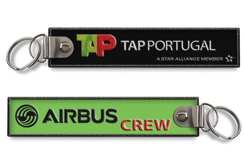 TAP Air Portugal-Airbus Crew Keychain( OLD logo)
