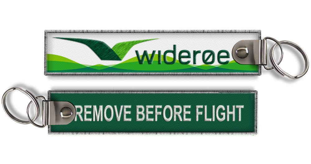 Wideroe-Remove Before Flight