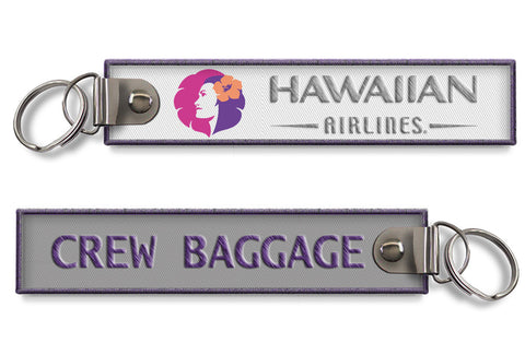 Hawaiian Airlines-Crew Baggage Keychain