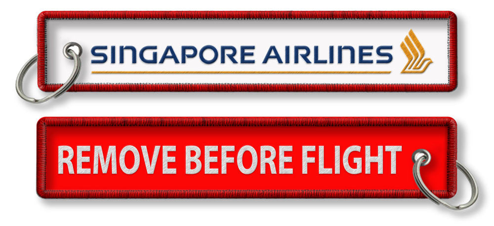 Singapore Airlines-Remove Before Flight