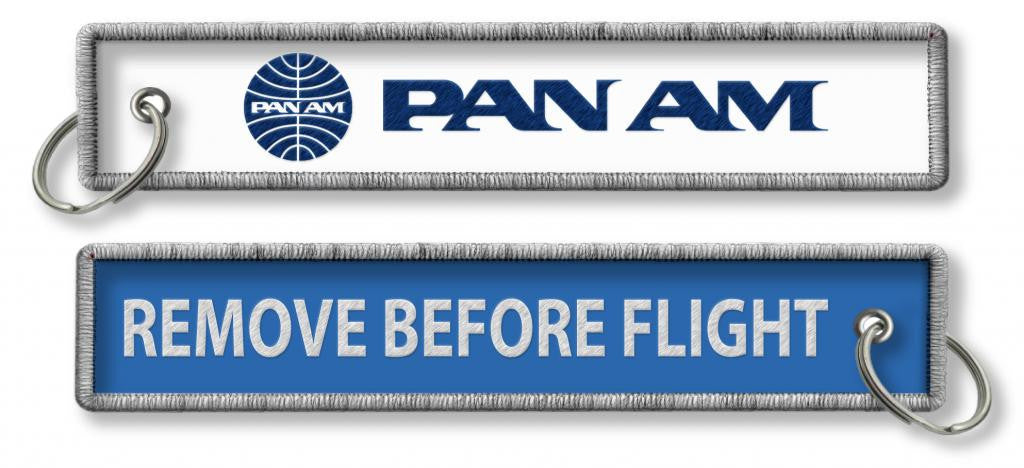 Pan Am-Remove Before Flight