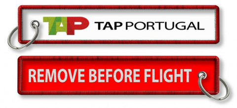 TAP Air Portugal-Remove Before Flight