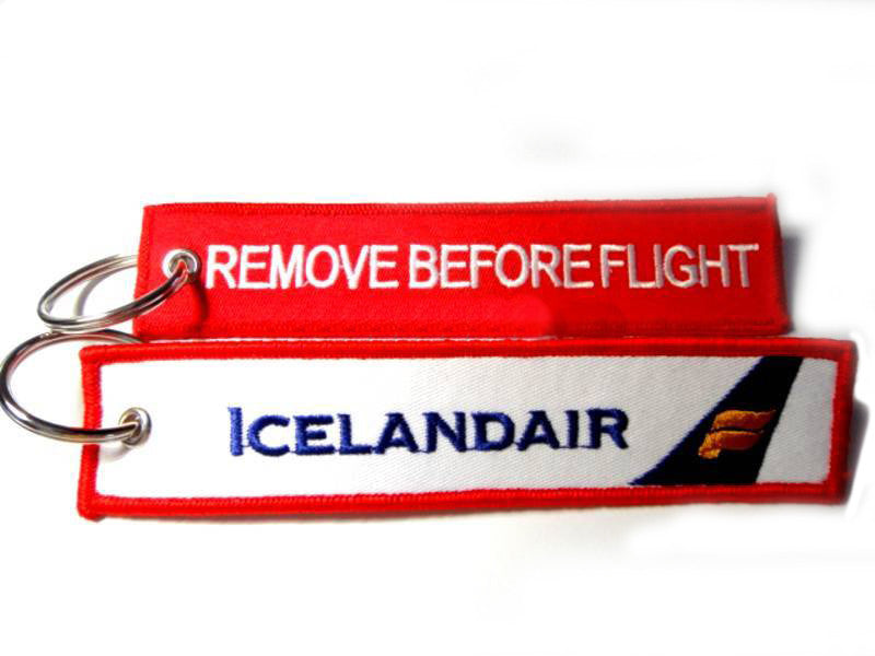 Icelandair-Remove Before Flight