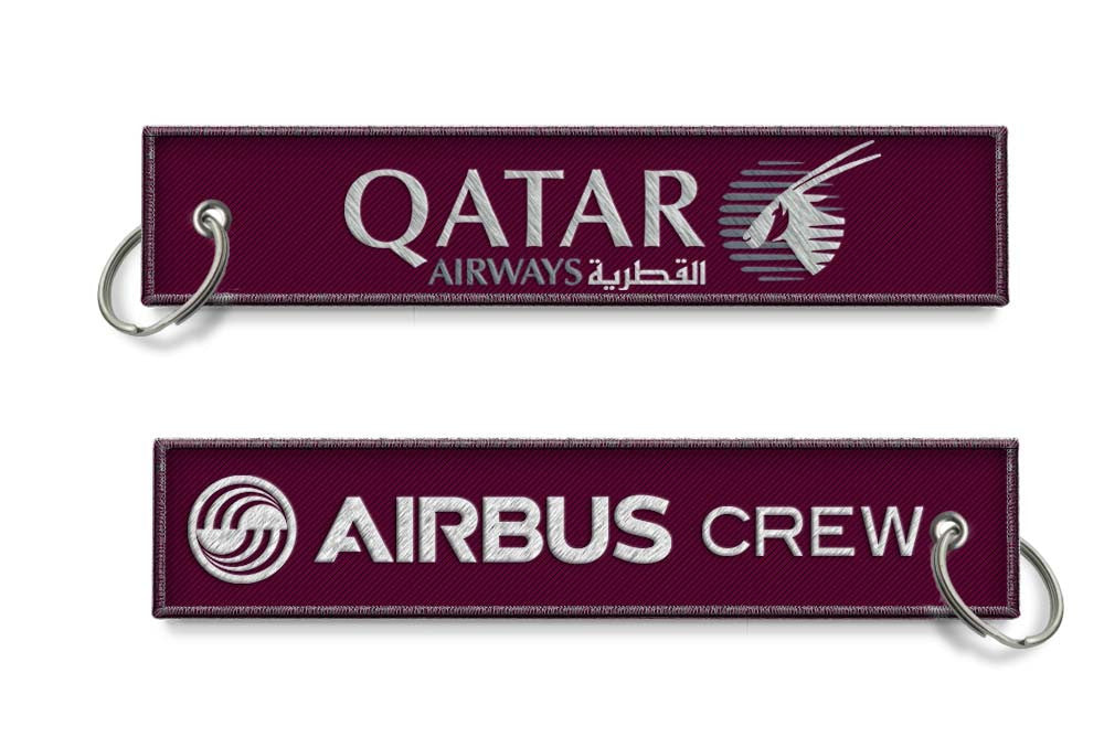 Qatar Airways-Airbus Crew keychain