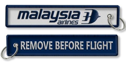 Malaysian Airlines-Remove Before Flight