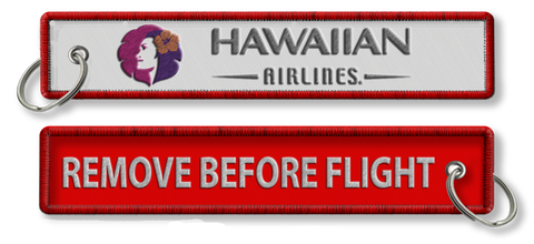 Hawaiian Airlines-Remove Before Flight(White/Red)