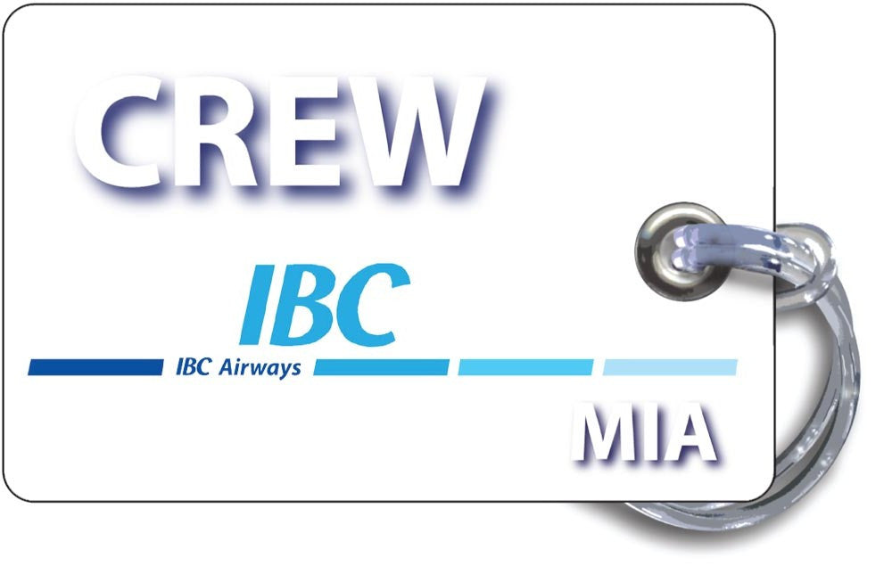IBC Airways Landscape White-(Base Tags)