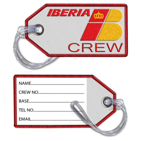 IBERIA- Embroidered Tag