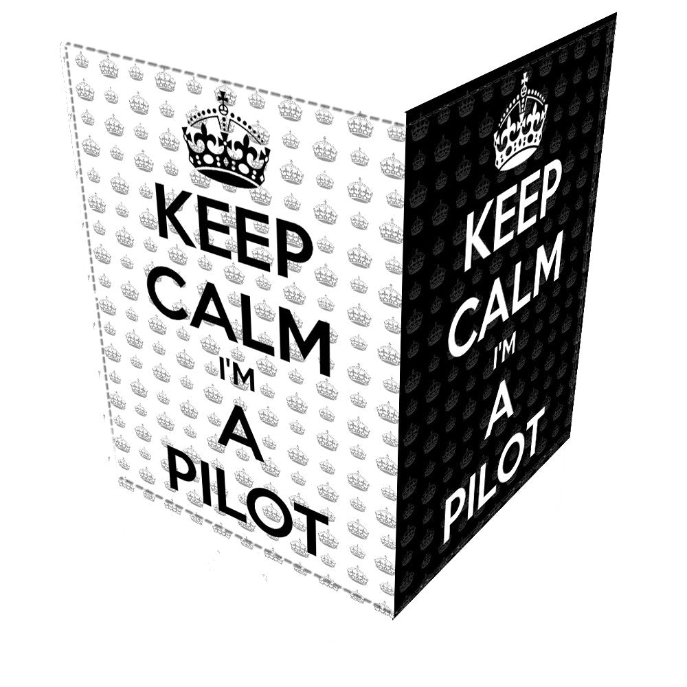 KEEP CALM I'M A PILOT -Passport Cover