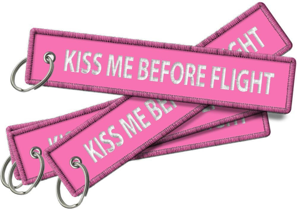 KISS ME BEFORE FLIGHT-Pink