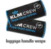 KLM Crew Luggage Handles Wraps