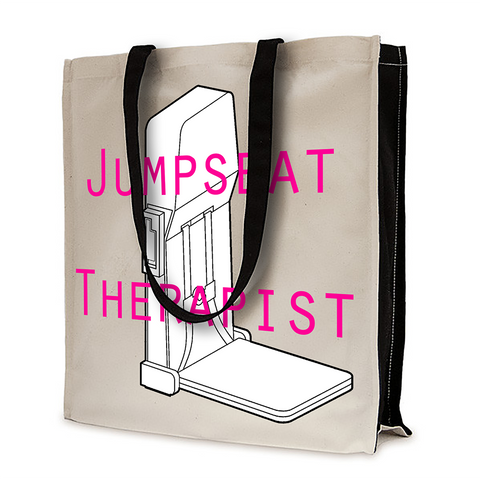 Jumpseat Therapist-Cotton Shopping Bag