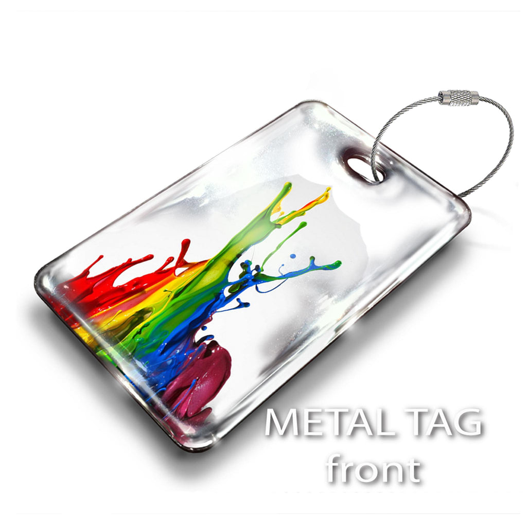 Rectangular Tag-Design Your Own