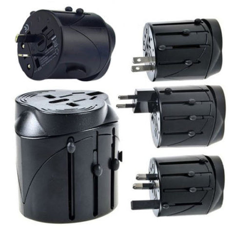 Multi UniversalTravel Adaptor-Black