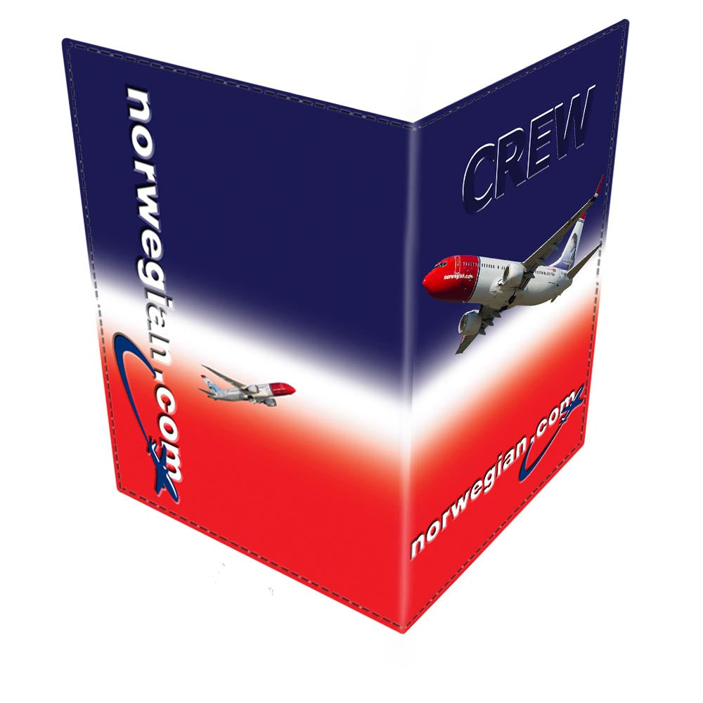 Norwegian Air Shuttle CREW Passport Cover