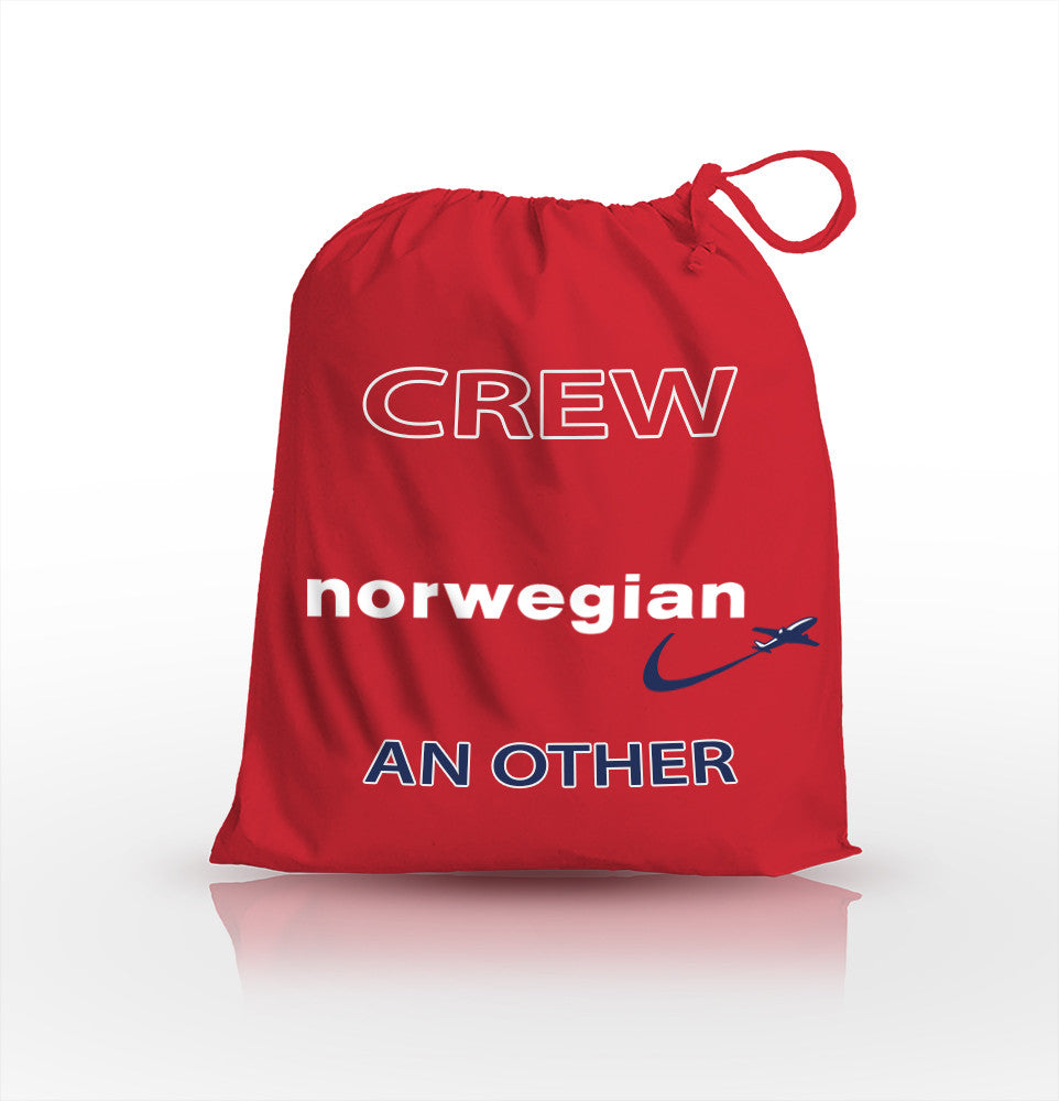 Norwegian Airlines Crew - Personalised Shoe Bag