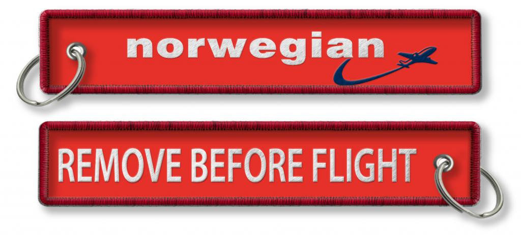 Norwegian Airlines Remove Before Flight