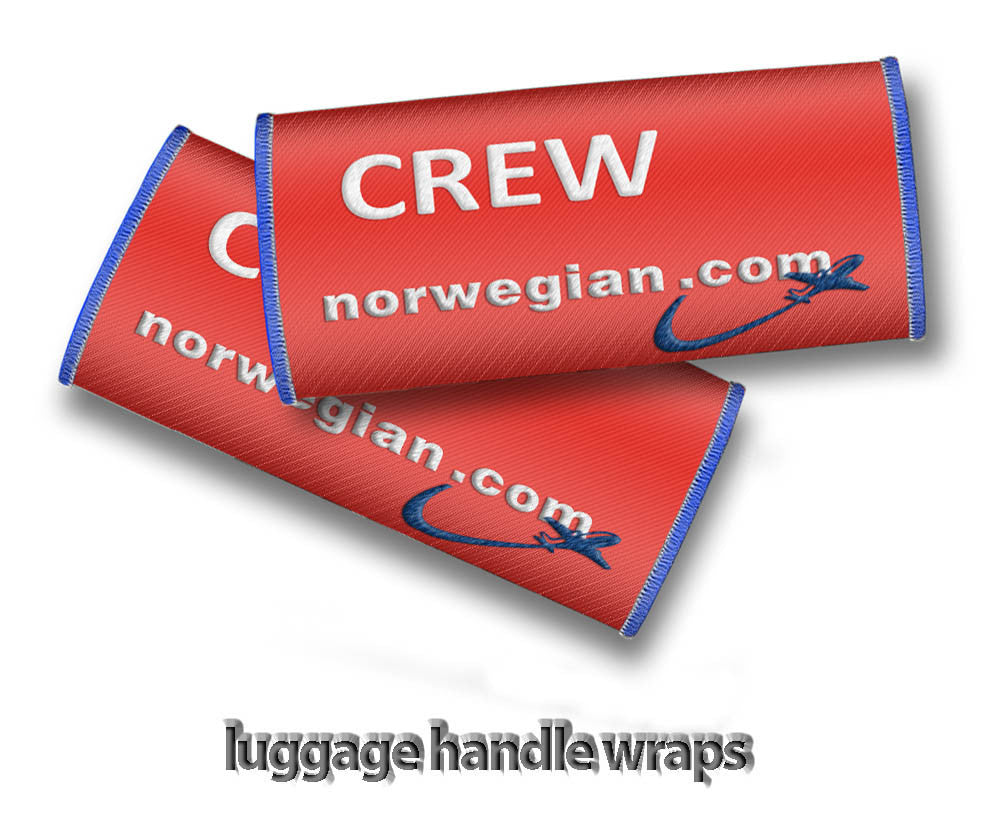 Norwegian Crew- Luggage Handles Wraps