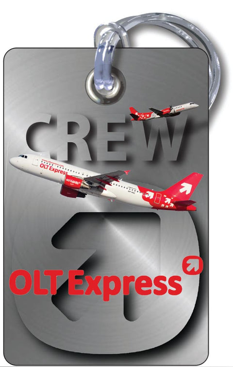 OLT Express-A320 Portrait -Steel Effect