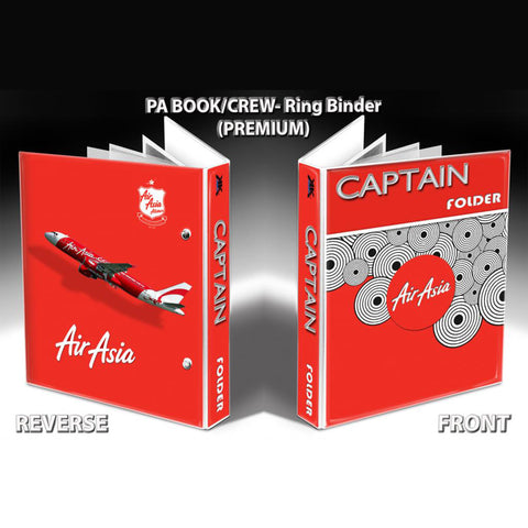 PA BOOK/CREW- Ring Binder(PREMIUM)