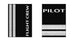 Pilot (2 Bars) WHITE-Passport Cover