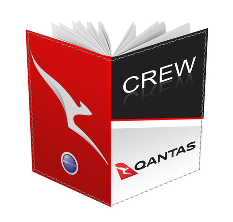 Qantas Crew Passport Cover