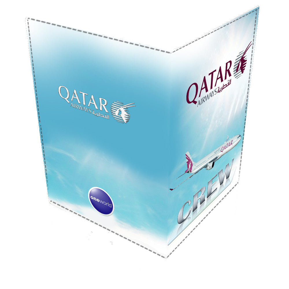 Qatar A330 CREW-Passport Cover