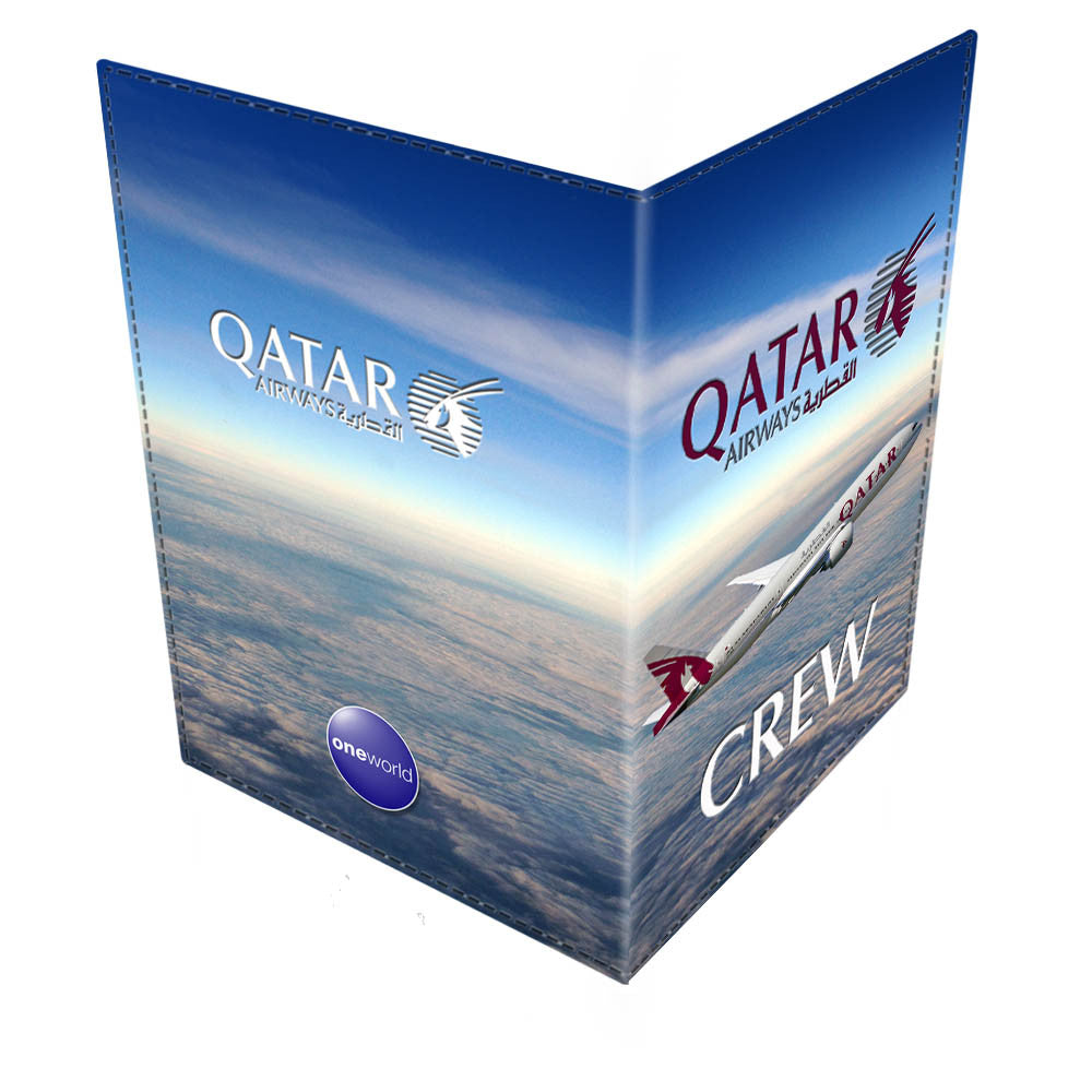 QATAR B777 CREW-Passport Cover