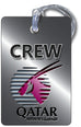 Qatar Airways Logo SILVER