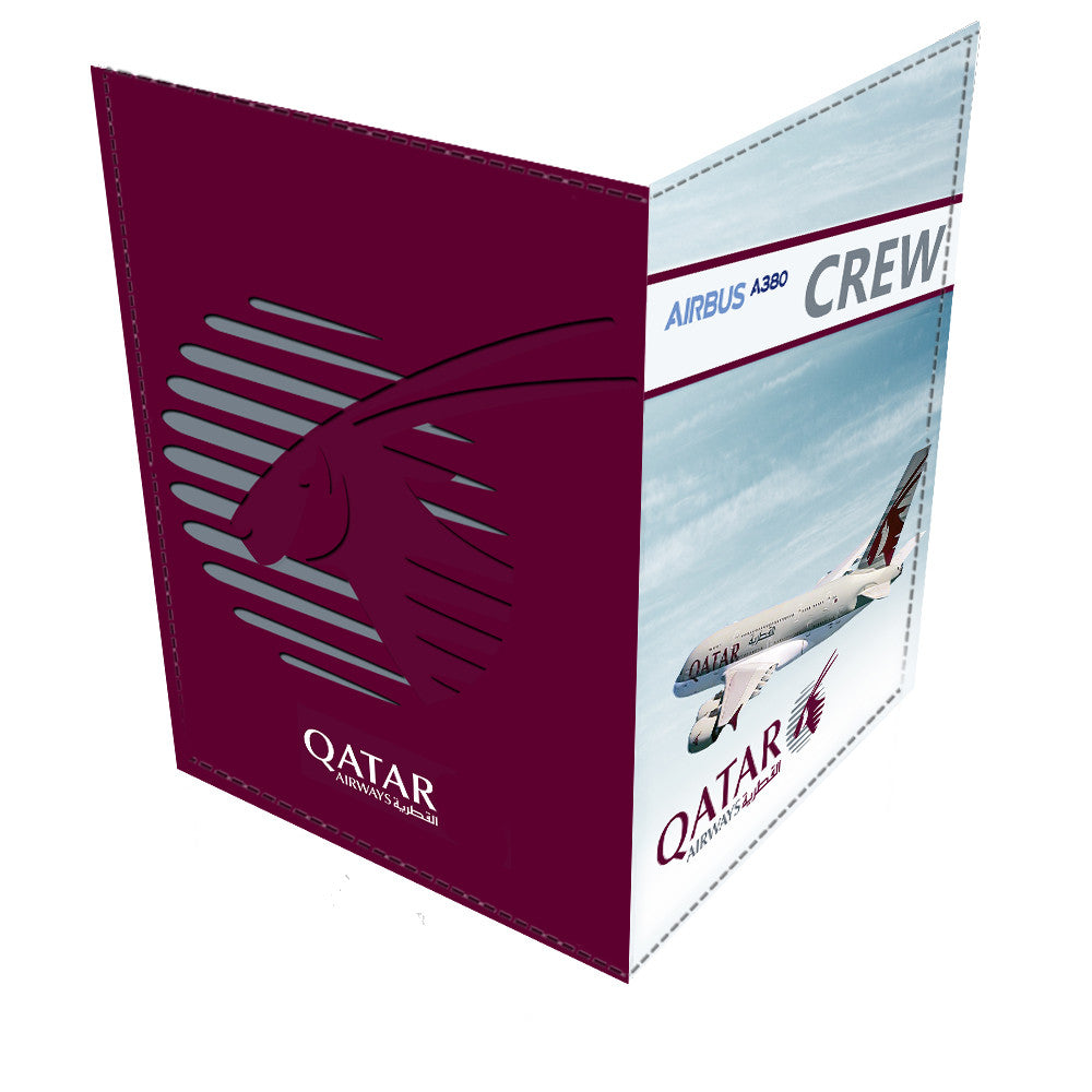 QatarA380 CREW-Passport Cover