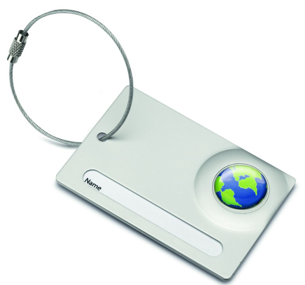 Reflects Alfortville Luggage Tag