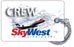 SkyWest Airlines Route Map1(Old Logo)
