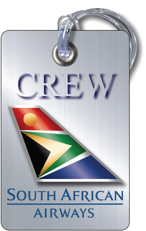 South African Airlines-Portrait 'Steel Effect'