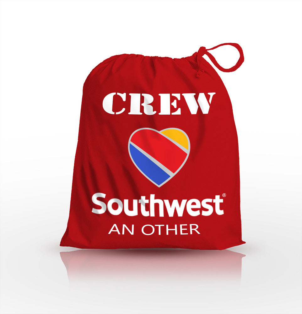Southwest Airlines Crew-Personalised Shoe Bag
